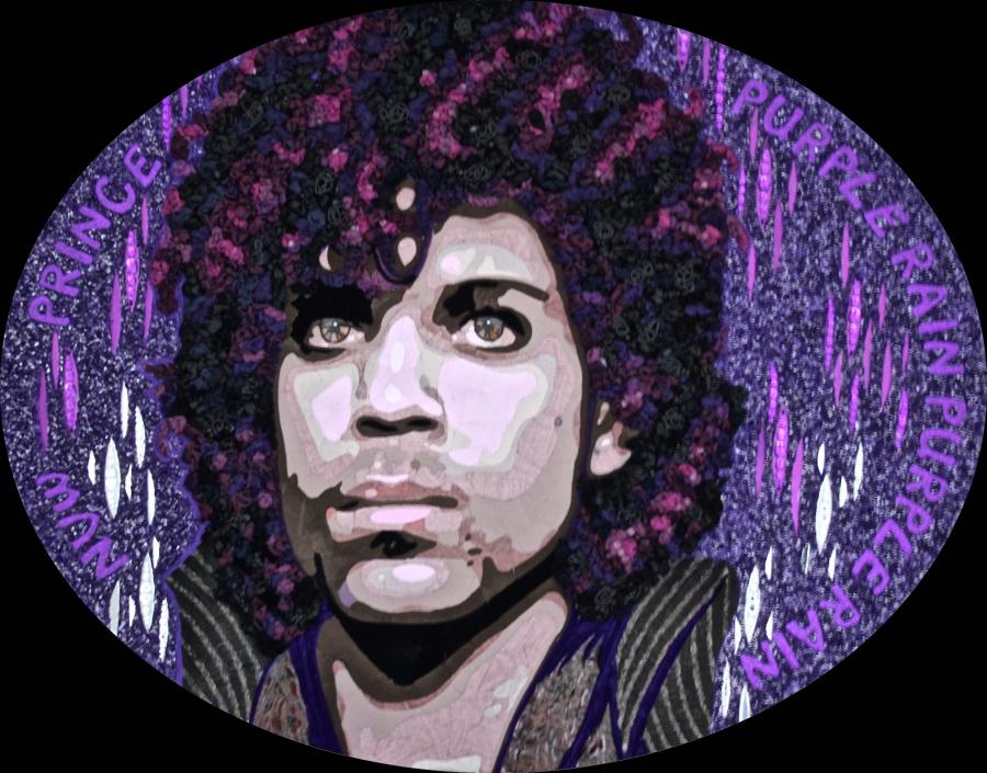 """Prince Purple Rain"" (120 CM X 150 CM)"